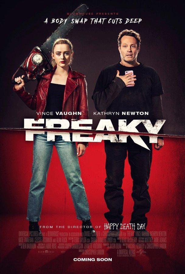 """Filmul """"Freaky"""" s-a menţinut pentru al doilea weekend consecutiv în fruntea box-office-ului nord-american"""